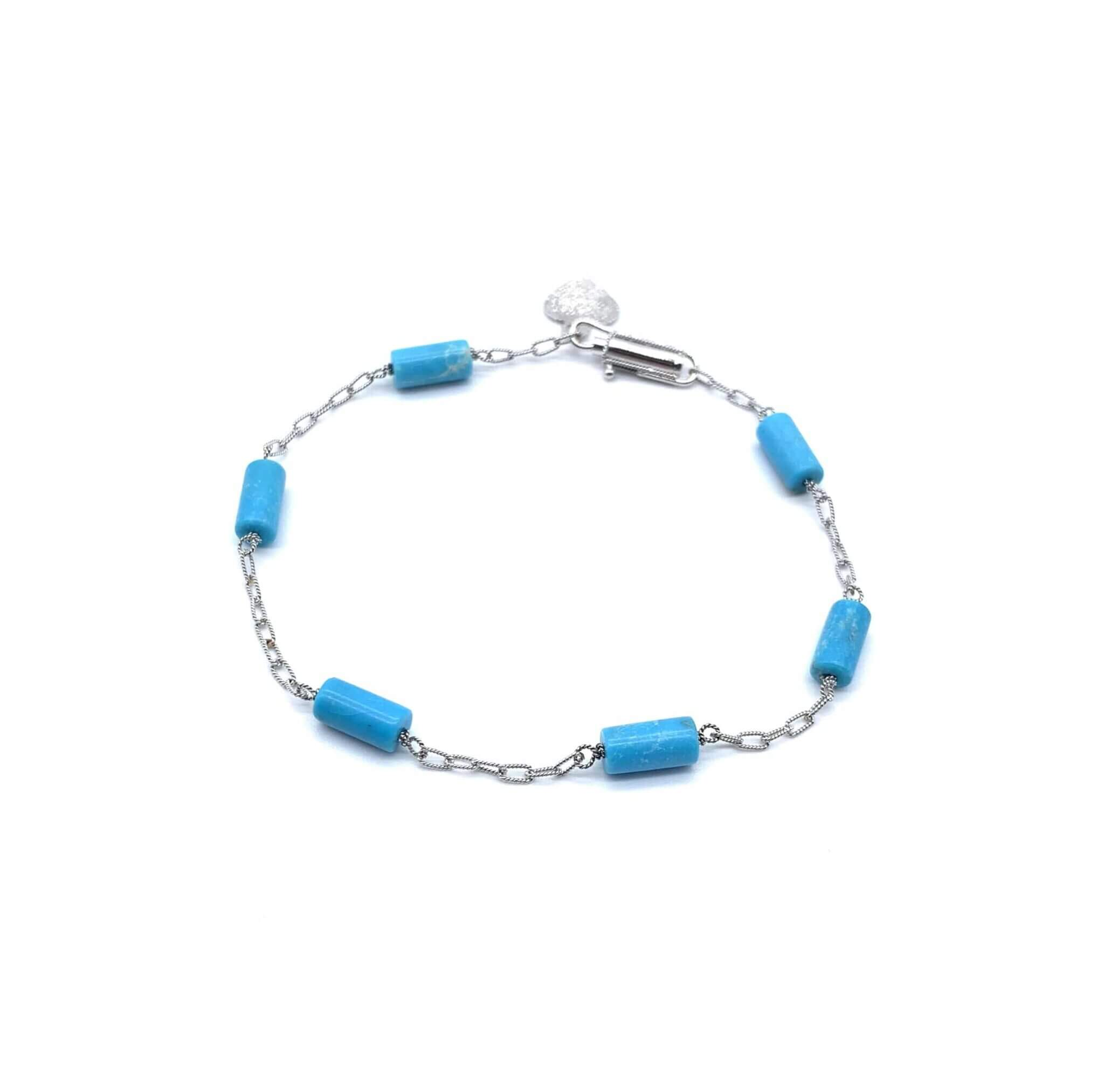 Caterina Murino bracelet or 6 turquoises