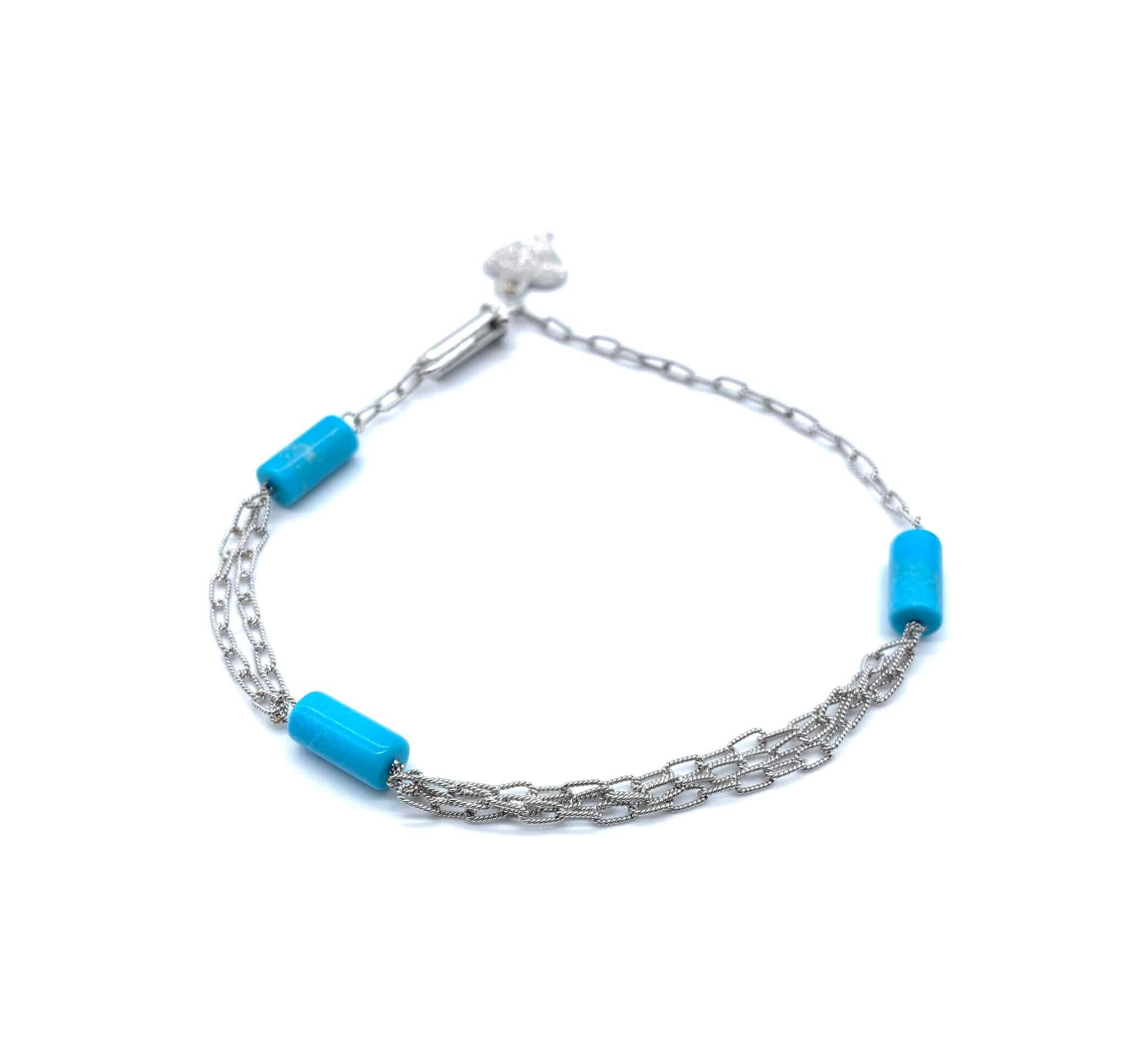 Caterina Murino bracelet or turquoise
