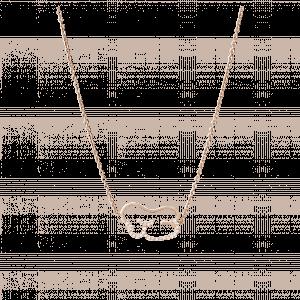 empreinte collier or jaune diamant