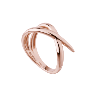 Duality bague alliance or rose