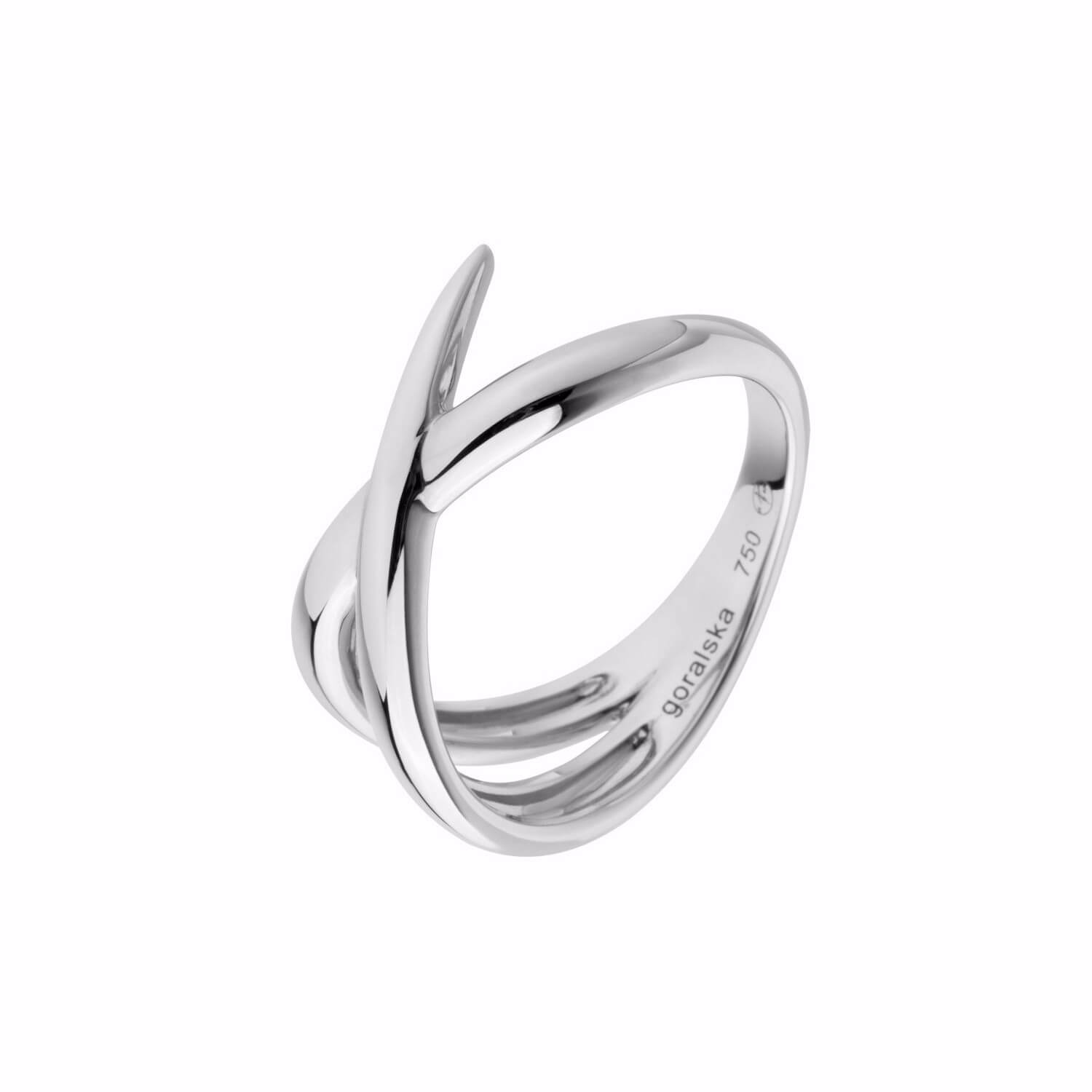 Duality bague alliance or blanc