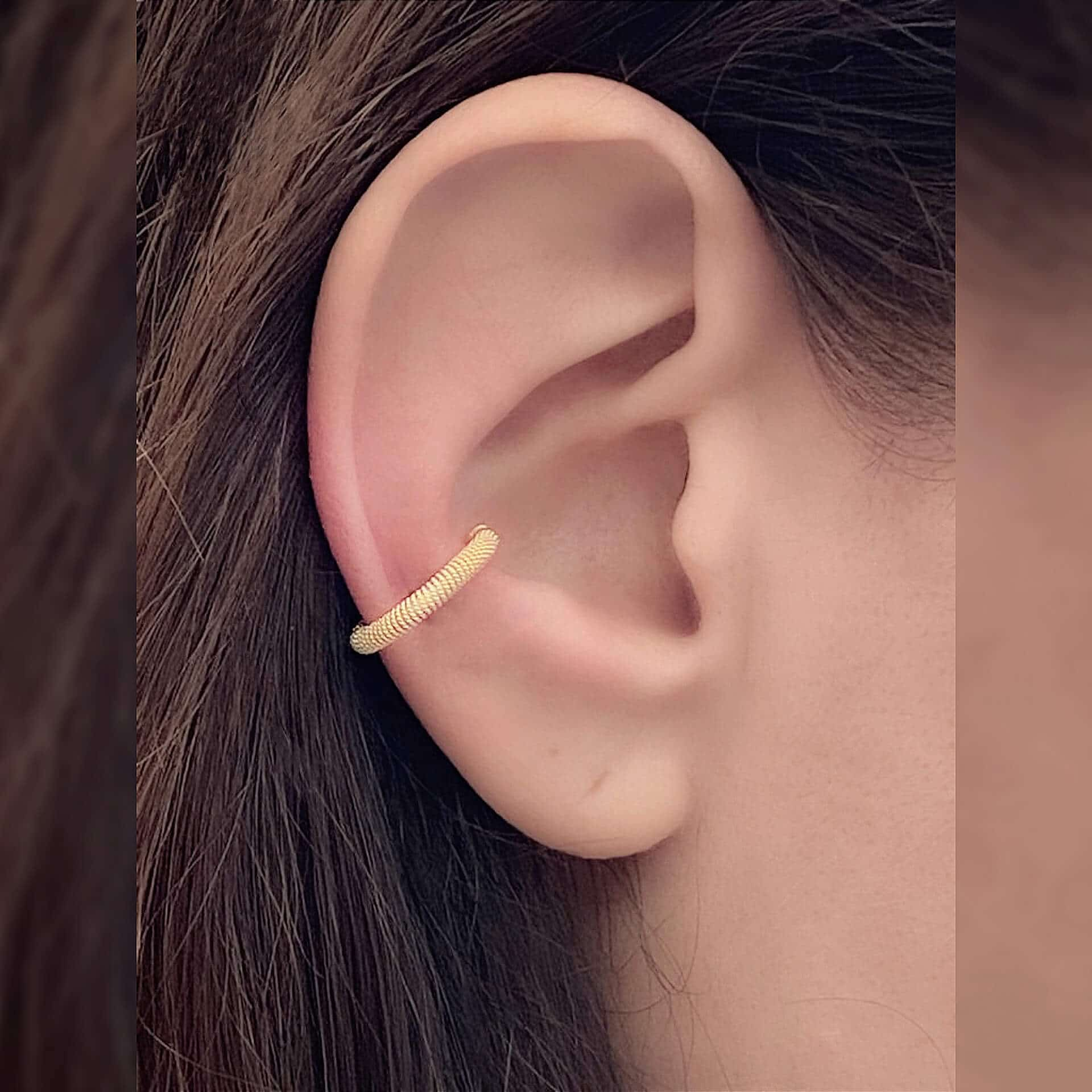 Caterina murino fili di querce boucle d'oreille or