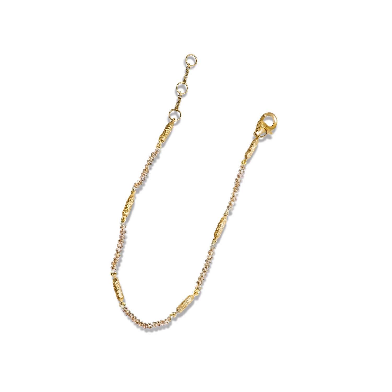 Terre bracelet or jaune briollets