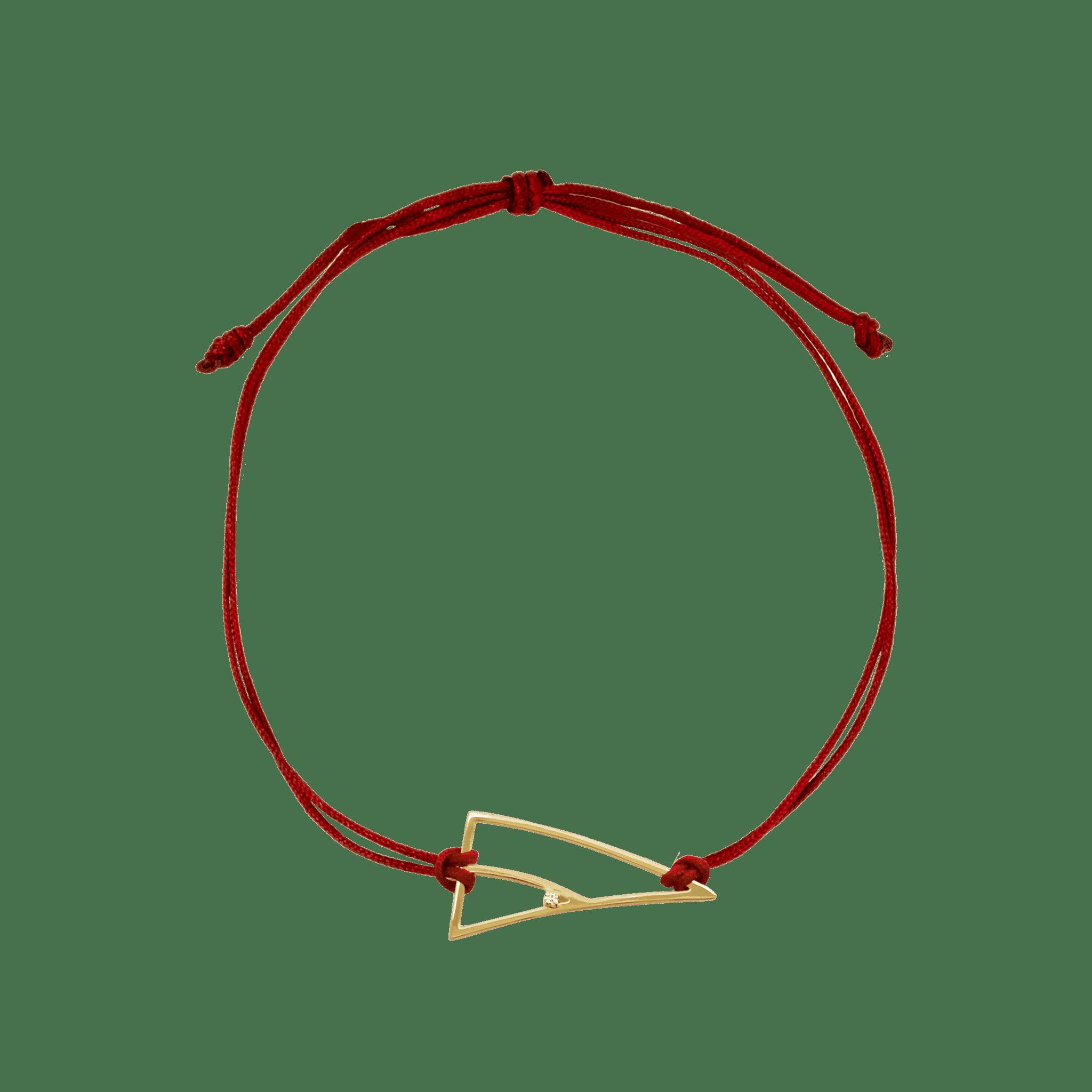 coïncidence bracelet or jaune diamant