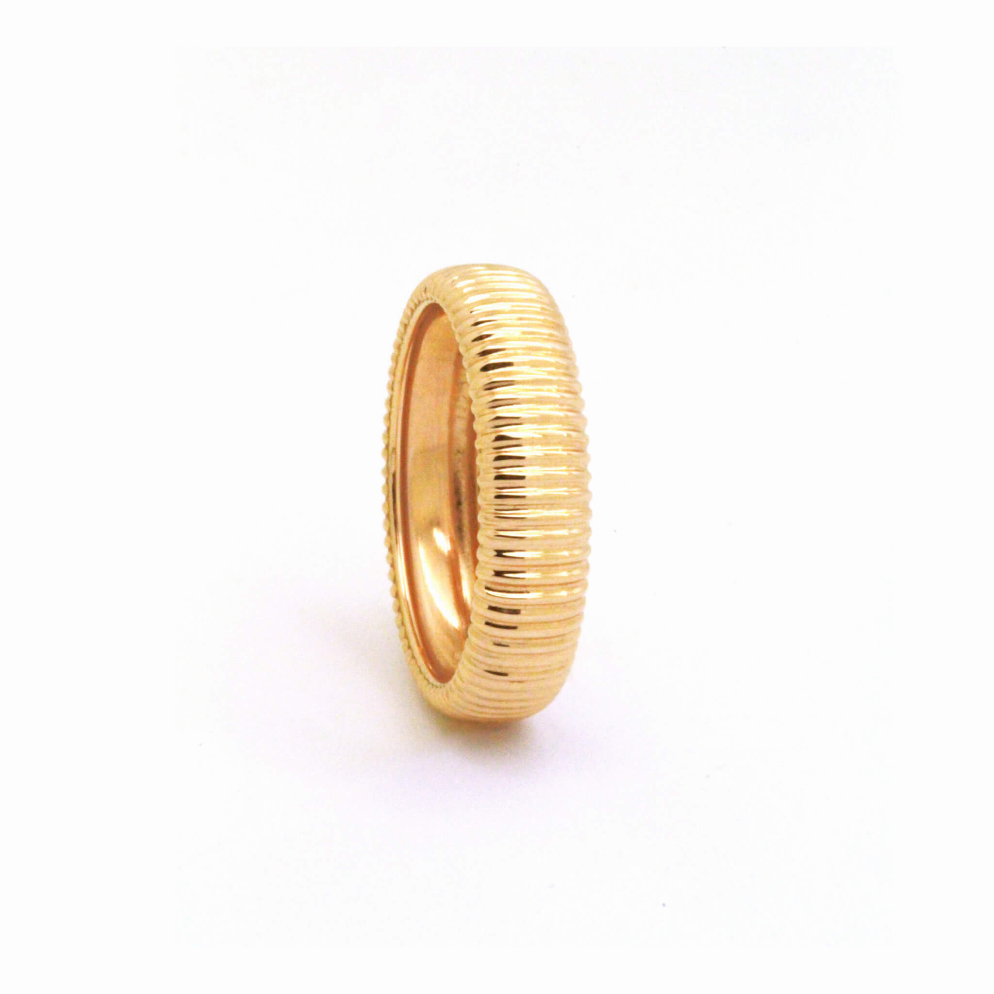 Pensee bague alliance or