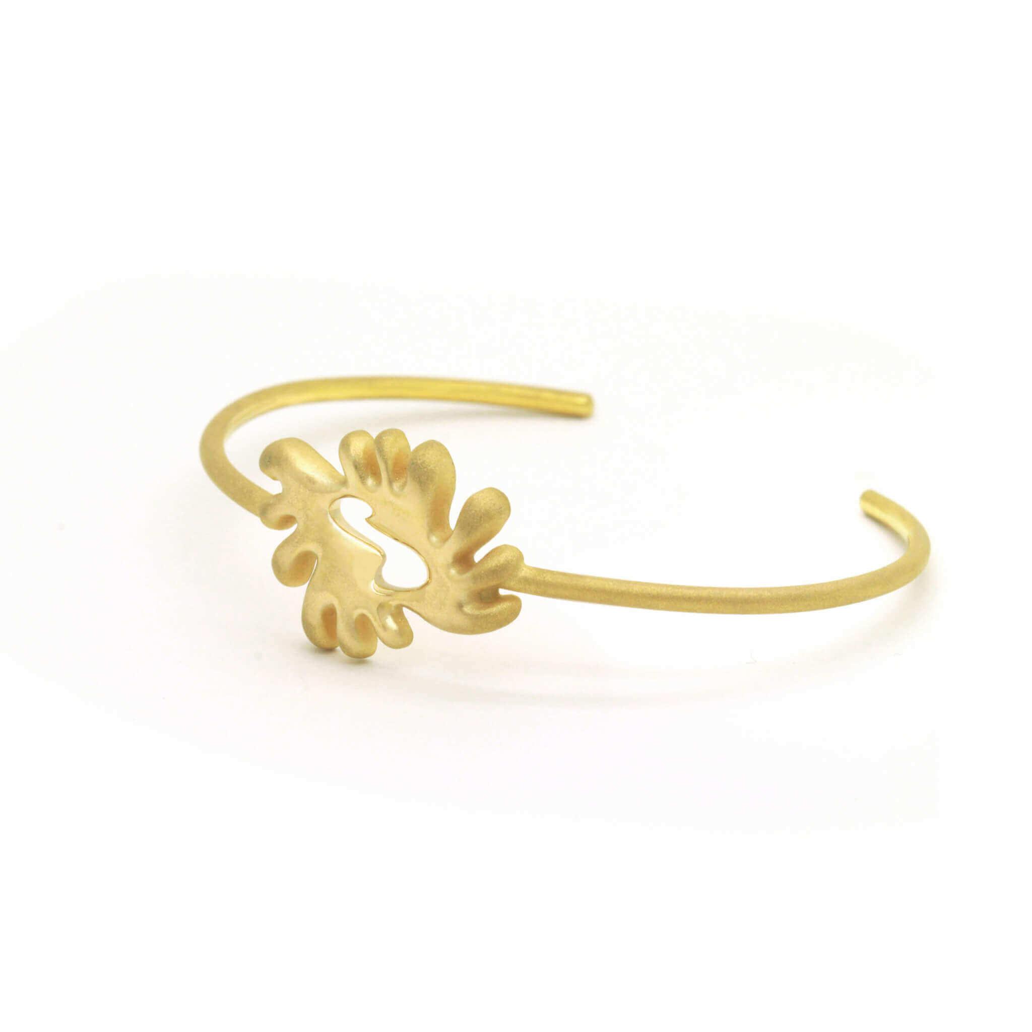 akan bracelet or jaune